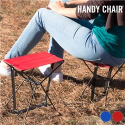 Handy Chair Folding Chair Red
