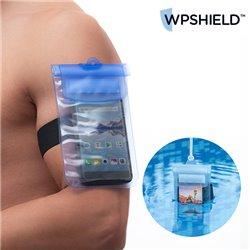 Custodia Impermeabile per Cellulare WpShield Azzurro
