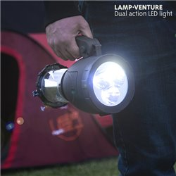 Luz de Campismo com Lanterna Lamp Venture