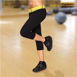 Leggings Curtas X-Tra Sauna Waist & Legs Slimmer S