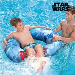 Rueda-Flotador Hinchable con Asas Star Wars