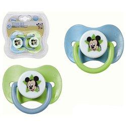 Set di Succhietti in Silicone Mickey Mouse Disney +3M 119070 (2 uds)
