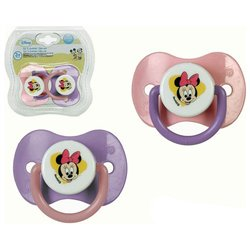 Set di Succhietti in Silicone Minnie Mouse Disney +0M 119193 (2 uds)