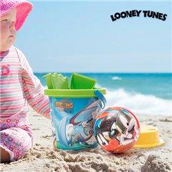 Jogo de Praia com Bola Looney Tunes (5 peças)