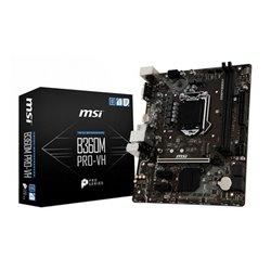 MSI B360M PRO-VH motherboard LGA 1151 (Socket H4) Micro ATX Intel® B360