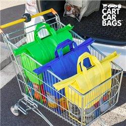Sacos Organizadores para as Compras e Mala Cart Car Bags (pack de 4)