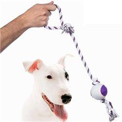 Corda con Pallina per Cani Pet Prior
