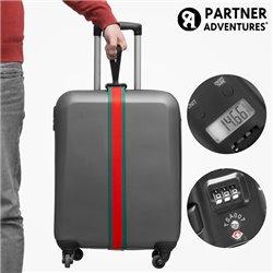 Partner Adventures Gepäckgurt mit Integrierter Waage und Sicherheitscode