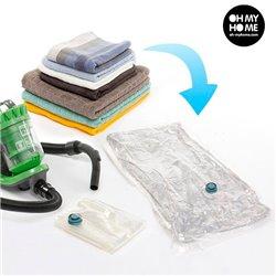 Vakuum-Aufbewahrungsbeutel für Kleidung (2er Pack)