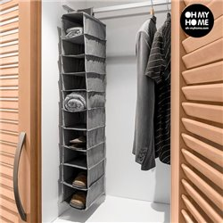 Hanging Clothes Organiser (10 compartments)