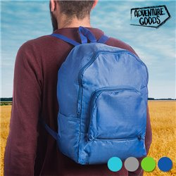 Adventure Goods Foldable Backpack Turquoise
