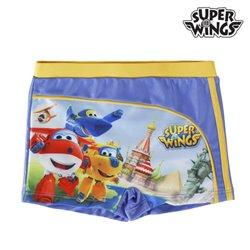 Calções de Banho Boxer para Meninos Super Wings 5 anos