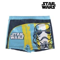 Calções de Banho Boxer para Meninos Star Wars 10 anos