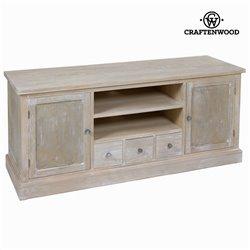 Mesa de TV Madeira de pinho Mdf Madeira de paulónia (150 x 50 x 66 cm) - Natural Coleção by Craftenwood