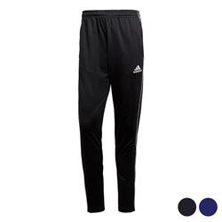 Pantalone di Tuta per Adulti Adidas Core 18 TR Poliestere M Nero/Bianco