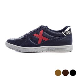 Scarpe da Tennis Casual Uomo Munich G3 Jeans Marrone Scuro 45