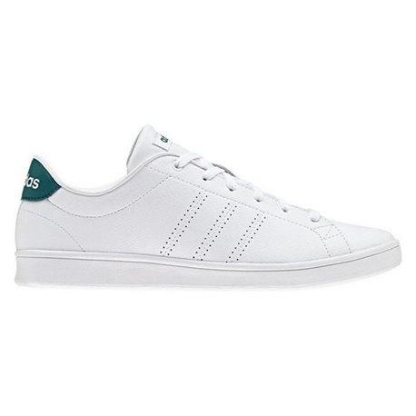 Adidas Women's Tennis Shoes Advantage Clean Qt White 42 (EU) - 7,5 (UK) Casual trainers