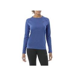 Asics Women's Long Sleeve T-Shirt 146603 8135 Blue (Size l - us)