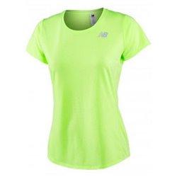 New Balance Women's Short Sleeve T-Shirt ACCELERATE Yellow Fluorescent S