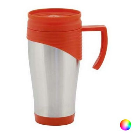 Tazza con Coperchio (450 ml) 144163 Rosso