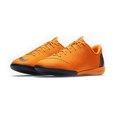 Últimas tendencias último estilo zapatillas de skate Nike Botas de Fútbol Multitaco para Niños Vapor X 12 Academy JR Naranja  (Talla 33 eu - 1.5y us) 3328