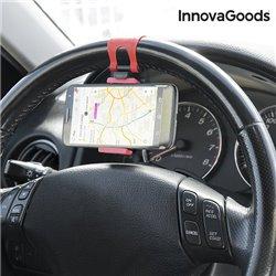 Soporte de Móviles para Volantes de Coche InnovaGoods