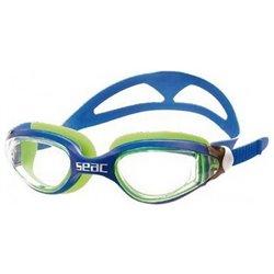 Occhialini da Nuoto per Adulti Seac Occhialini Ritmo Azzurro Verde