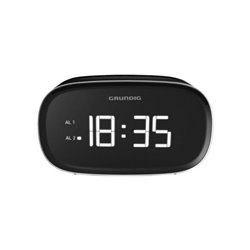Grundig Rádio Despertador SCN-340 LED USB 2.0 2W Preto