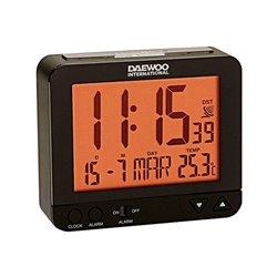 Orologio Sveglia Daewoo DBF120 Nero