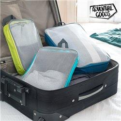 Adventure Goods Koffer Packwürfel (3 Teile)