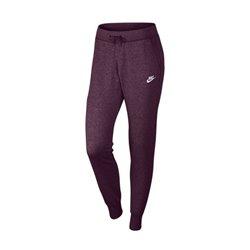 Pantalone di Tuta per Adulti Nike W NSW Pant FLC Tight Bordeaux (Taglia xs - us)