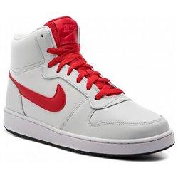 Scarpe da Basket per Adulti Nike Ebernon Mid Bianco Rosso 46