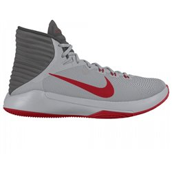 Scarpe da Basket per Adulti Nike Prime Hype DF Grigio Rosso 8