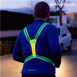 InnovaGoods Harnais Réfléchissant avec LED pour Sportifs