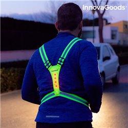 InnovaGoods Imbracatura Catarifrangente con LED per Sportivi