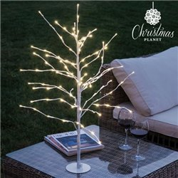 Árvore com Neve Decorativa (112 LED)