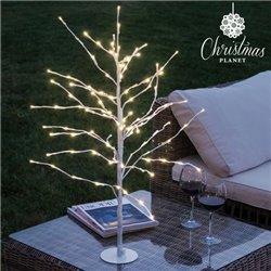 Snow-Covered Decorative Tree (112 LED lights)