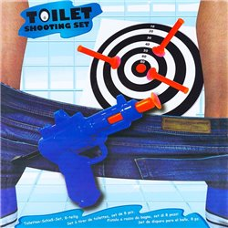 Bathroom Shooting Game (8 Pieces)