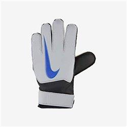 Guanti da Portiere per Bambini Nike GK Match JR FA18 Bianco Azzurro 7