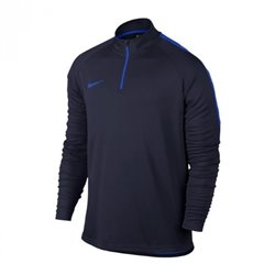 Nike Training Sweatshirt for Adults Dry Academy Top Black Blue S