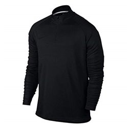Nike Training Sweatshirt for Adults Dry Academy Top Black L