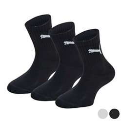 Puma Sports Socks SHORT CREW (3 Pairs) Black 43-46