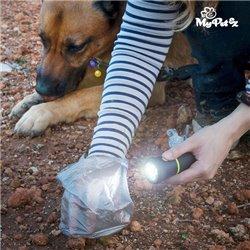 Torcia con Porta Sacchetti per Escrementi MyPet Poop Lantern