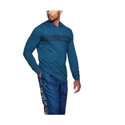 Under Armour Sweat à capuche homme 1306490-487 Bleu M