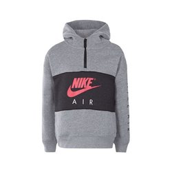 Nike Sweat à capuche enfant 342S-GEH Gris Noir 6-7 ans