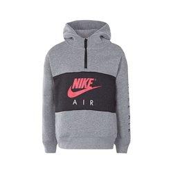 Nike Sweat à capuche enfant 342S-GEH Gris Noir 5-6 Ans