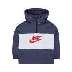 Nike Sweat à capuche enfant 342S-U2Y Blue marine Gris 5-6 Ans