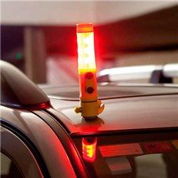 Lanterne Led Multifonction avec Accessoires d'Urgence Led 143608 Jaune
