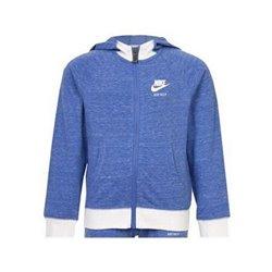 Nike Sweat à capuche enfant 842-B9A Bleu Blanc 4-5 ans