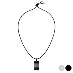 Girocollo Calvin Klein KJ41AP010 (45 cm) Nero
